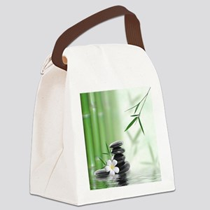 Zen Reflection Canvas Lunch Bag