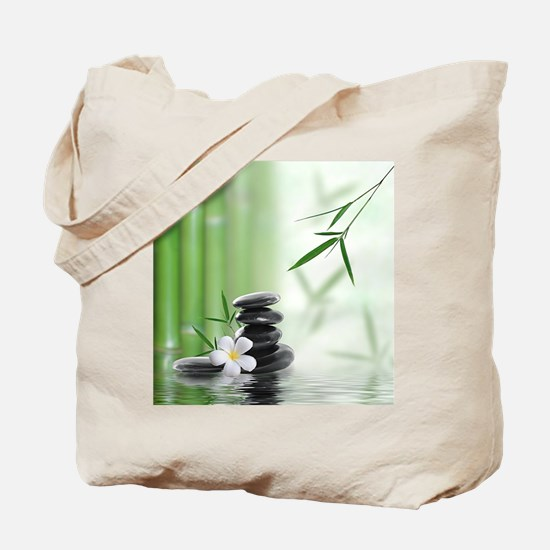 Zen Reflection Tote Bag