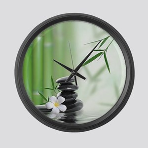 Zen Reflection Large Wall Clock