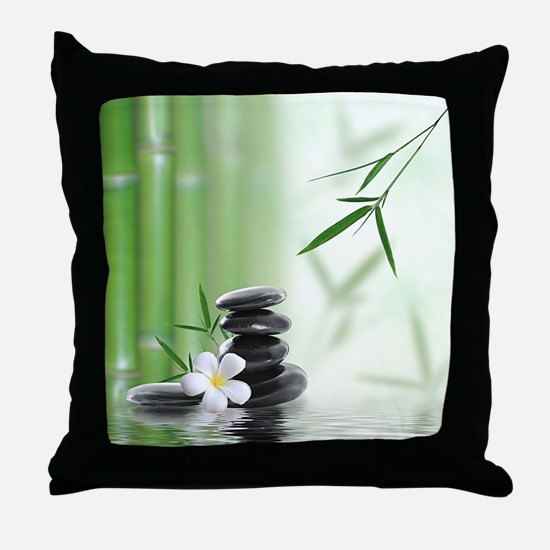 Zen Reflection Throw Pillow
