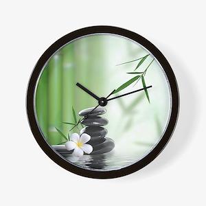 Zen Reflection Wall Clock