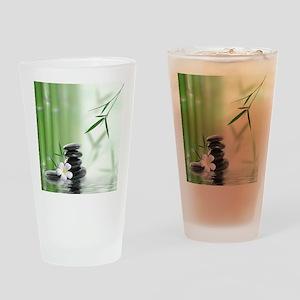 Zen Reflection Drinking Glass