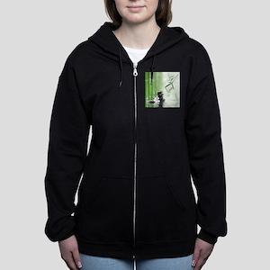 Zen Reflection Women's Zip Hoodie