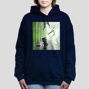 Zen Reflection Women's Hooded Sweatshirt