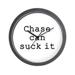 Chase Can Suck It Wall Clock