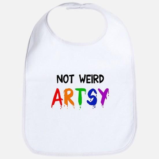 Not weird artsy Bib