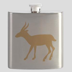 Brown Gazelle Flask