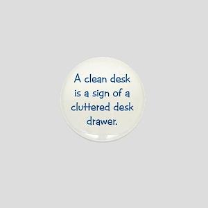 Clean Desk Mini Button