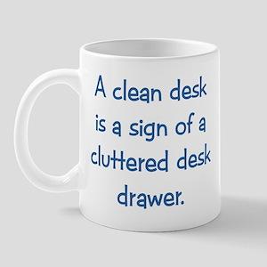 Clean Desk Mug