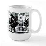 Visit Philadelphia on the PRR Large Mug