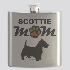 Scottie Mom Flask