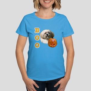 Lhasa Apso Boo Women's Dark T-Shirt