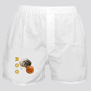 Lhasa Apso Boo Boxer Shorts