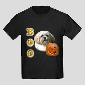 Lhasa Apso Boo Kids Dark T-Shirt
