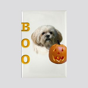 Lhasa Apso Boo Rectangle Magnet