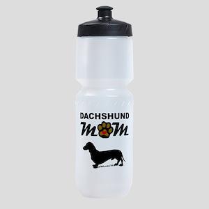 Dachshund Mom Sports Bottle