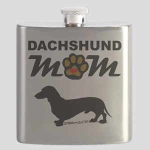Dachshund Mom Flask
