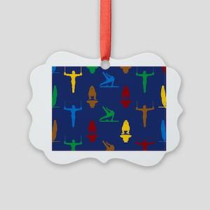 Mens Gymnastics Ornament