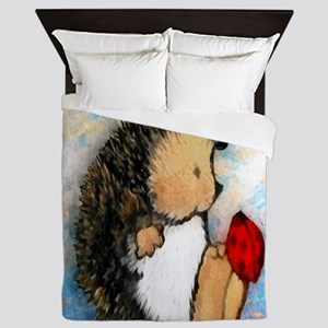 Hedge Hog Queen Duvet