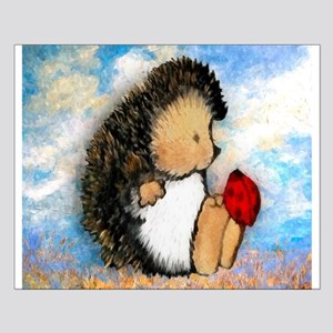 Hedge Hog Small Poster