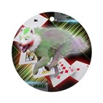 WooFPAK Heroes Joker JAG Ornament (Round)