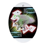 WooFPAK Heroes Joker JAG Ornament (Oval)