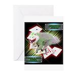 WooFPAK Heroes Joker JAG Greeting Cards