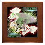 WooFPAK Heroes Joker JAG Framed Tile