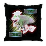 WooFPAK Heroes Joker JAG Throw Pillow