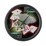 WooFPAK Heroes Joker JAG Large Wall Clock