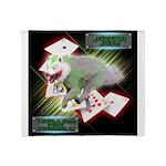 WooFPAK Heroes Joker JAG Throw Blanket