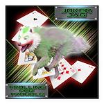 WooFPAK Heroes Joker JAG Square Car Magnet 3