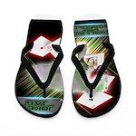 WooFPAK Heroes Joker JAG Flip Flops