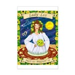 Lady Leo Mini Poster Print