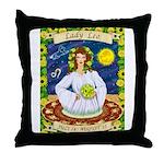 Lady Leo Throw Pillow