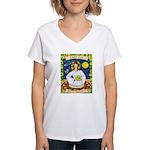 Lady Leo Women's V-Neck T-Shirt