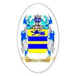Grzegorzewicz Sticker (Oval)