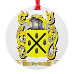 Grylls Round Ornament
