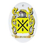 Grylls Ornament (Oval)