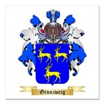 Grunzweig Square Car Magnet 3