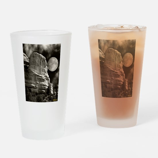 SedonaRockMoon CP Drinking Glass