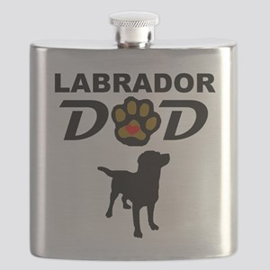 Labrador Dad Flask