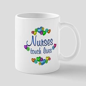 Nurses Touch Lives Mug