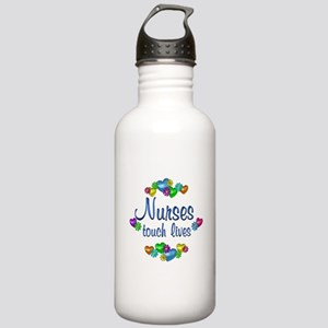 Nurses Touch Lives Stainless Water Bottle 1.0L
