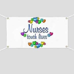 Nurses Touch Lives Banner