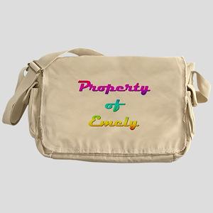 Property Of Emely Female Messenger Bag