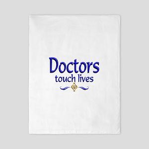 Doctors Touch Lives Twin Duvet