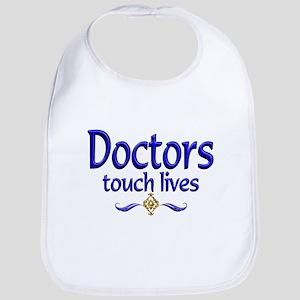 Doctors Touch Lives Bib
