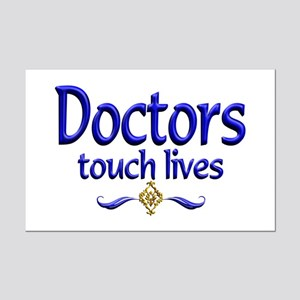 Doctors Touch Lives Mini Poster Print