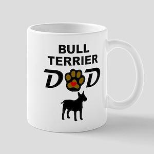 Bull Terrier Dad Mugs